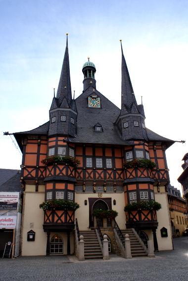 Sehenswürdigkeiten Wernigerode Rathaus